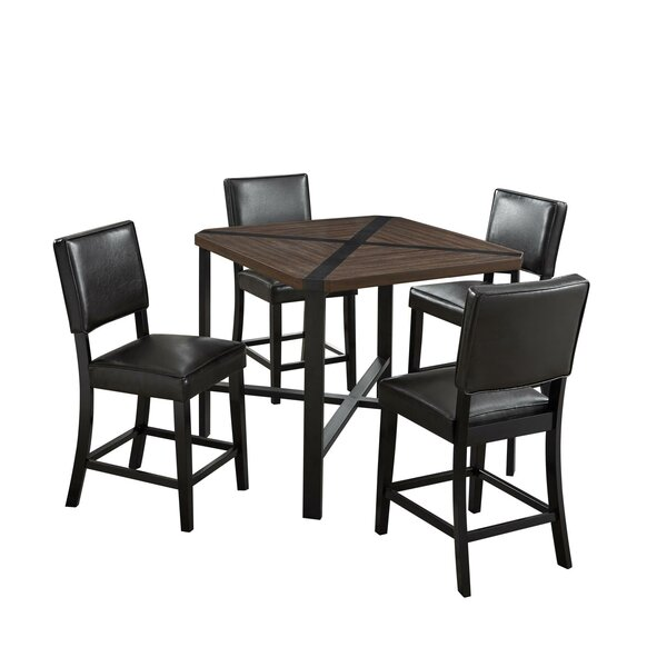 Beekman 5 Piece Counter Height Dining Set by Gracie Oaks Gracie Oaks