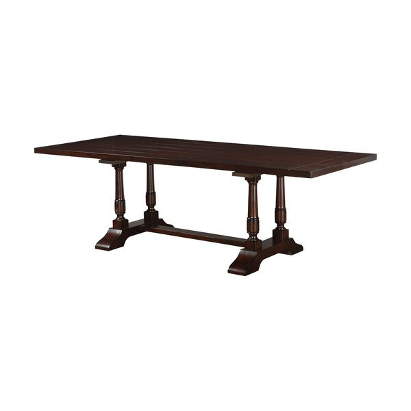 Hawkinson Extendable Dining Table by Alcott Hill Alcott Hill