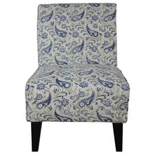 Langford Slipper Chair by Fox Hill Trading