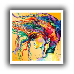 Windswept' Painting Print on Rolled Canvas by Zipcode Design
