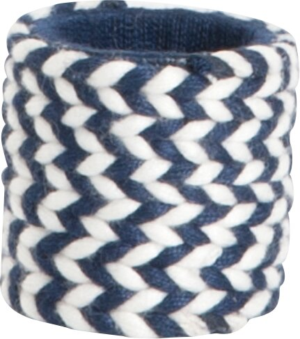 Braided Design Napkin Ring (Set of 4) by Saro