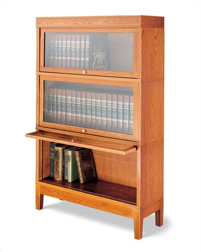 800 Sectional Series Deep Barrister Bookcase by Ha