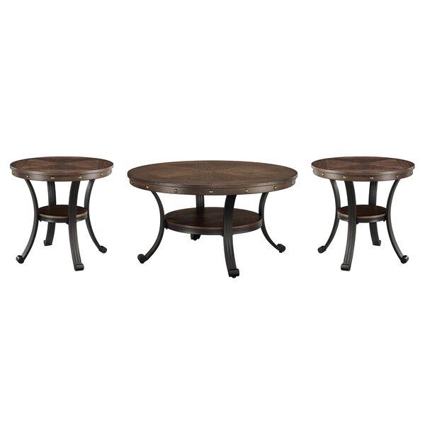 Archstone 3 Piece Coffee Table Set