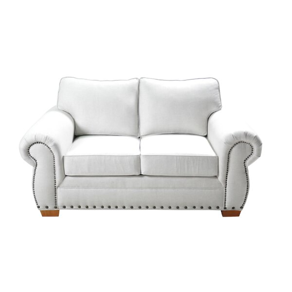 New Look Huth Stationary Loveseat by Alcott Hill by Alcott Hill