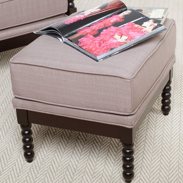 Colonnade Spindle Ottoman by Studio Designs HOME