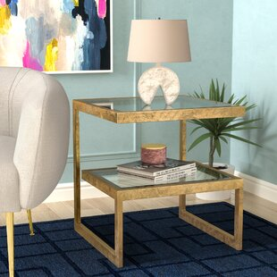 Spirgel End Table by Willa Arlo Interiors
