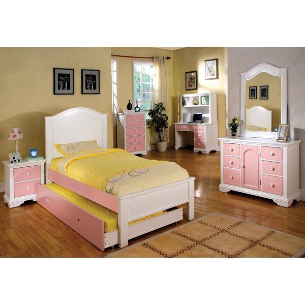 Aila Twin Panel Bed by Hokku Designs