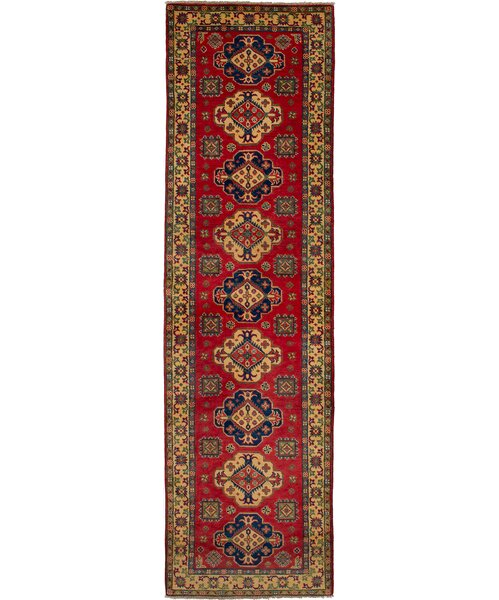 One-of-a-Kind Bernard Hand-Knotted Wool Red Area Rug by Bloomsbury Market