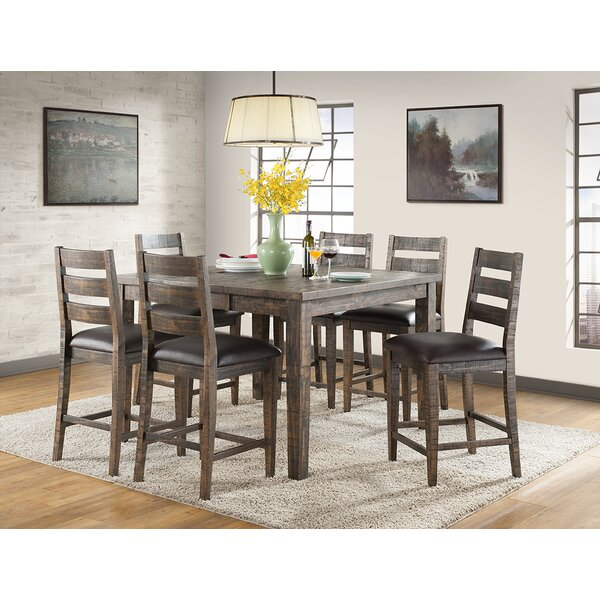 Burkhalter Extendable Solid Wood Dining Table by Union Rustic