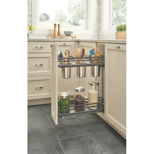 Orion 3-Container Base Pull Out Pantry by Rev-A-Shelf