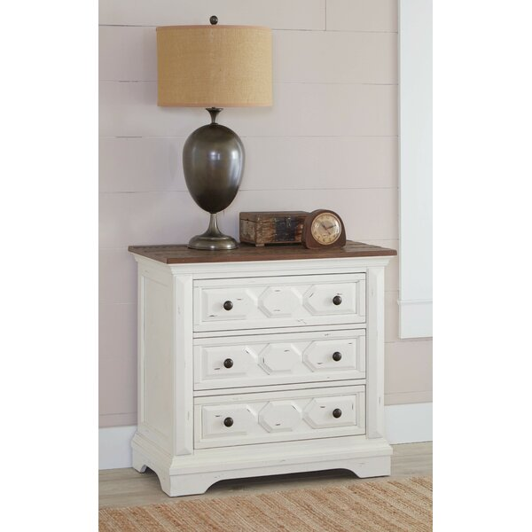 Miceli 3 Drawer Nightstand by Alcott Hill