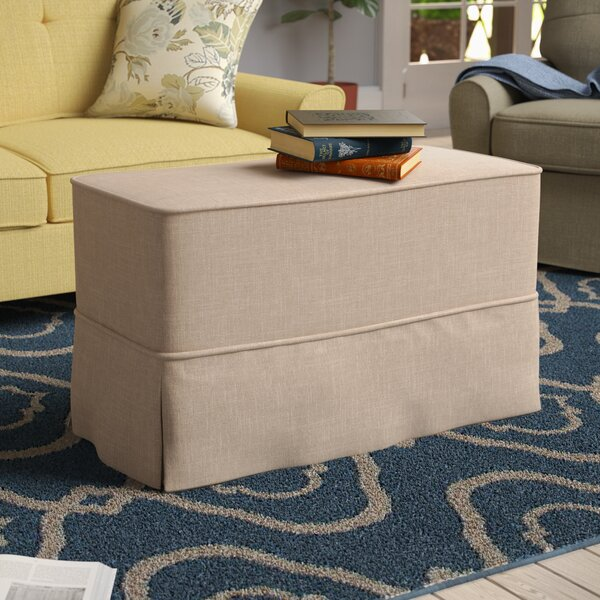 Linen Ottoman Slipcover by Darby Home Co