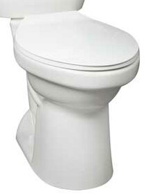 Cascade SmartHeight Elongated Toilet Bowl by Mansf