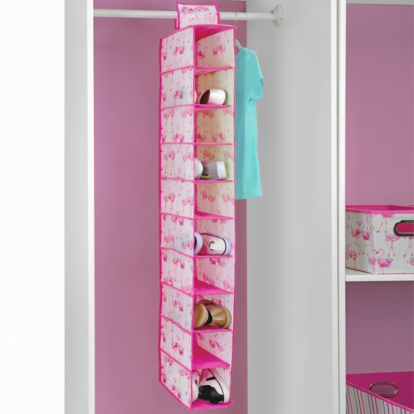 10 Pair Hanging Shoe Organizer by Laura Ashley Home