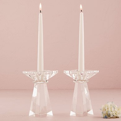 Crystal Candlestick by Weddingstar