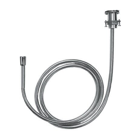Metal Hose Pull-Out Set with Holder and Elbow by Hansgrohe