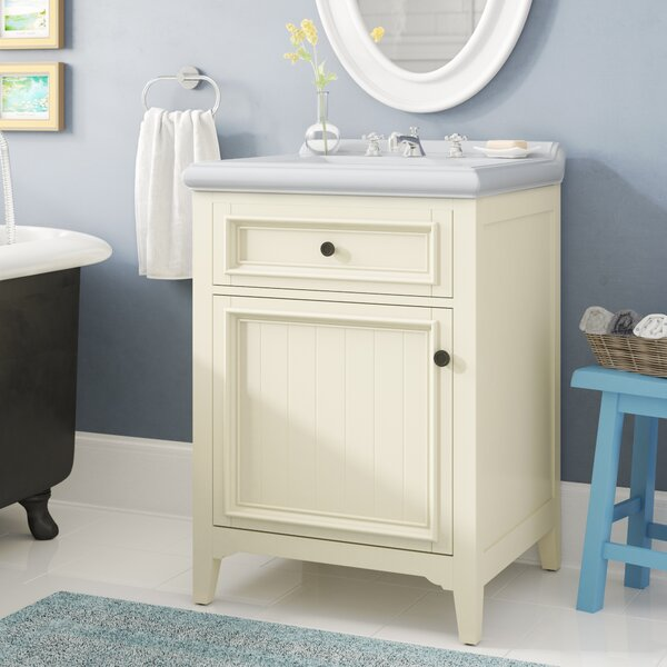 Giambrone 24 Single Bathroom Vanity Set by Three Posts