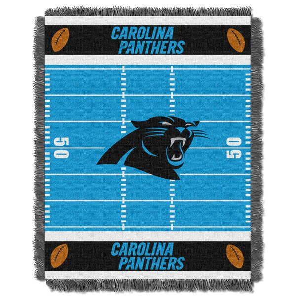 NFL Panthers Field Baby Blanket by Northwest Co.