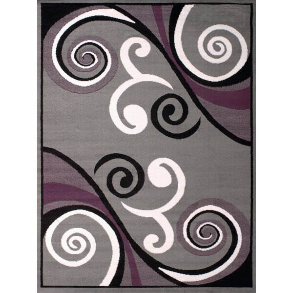 Dallas Billow Gray Area Rug by United Weavers of America