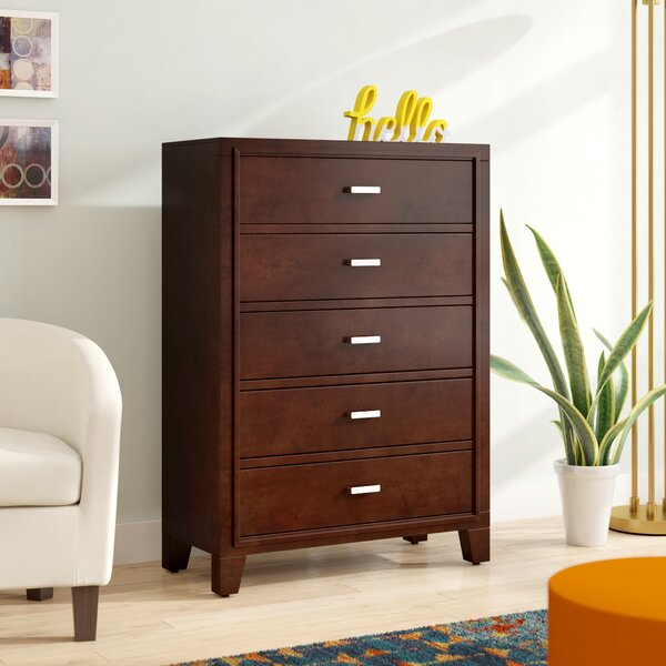 Carpino 5 Drawer Chest by Latitude Run