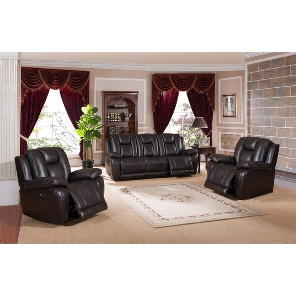 Mickey Reclining 3 Piece Living Room Set by Red Barrel Studio
