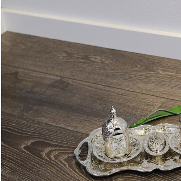 12 x 48 x 12mm Oak Laminate Flooring in Embossed by Islander Flooring