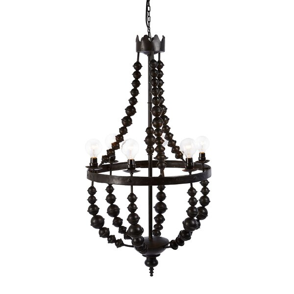 6 - Light Unique Empire Chandelier By Bobo Intriguing Objects