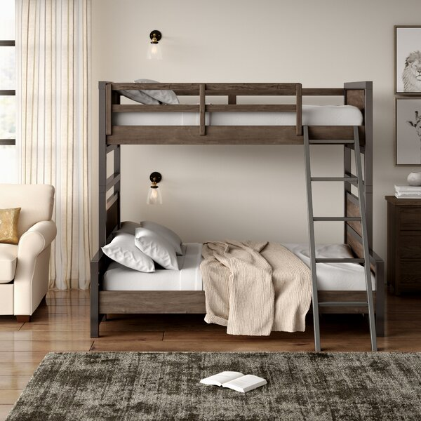 Strasburg Twin over Full Bunk Bed by Greyleigh