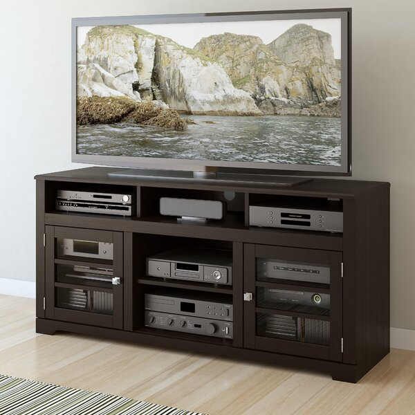 West Lake 60 TV Stand with Optional Fireplace by dCOR design