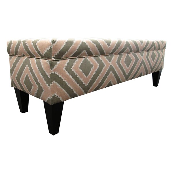 Regis Fabric Storage Bench