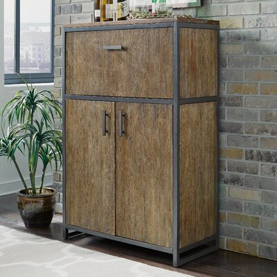 Wall Mounted Bar Cabinet Wayfair