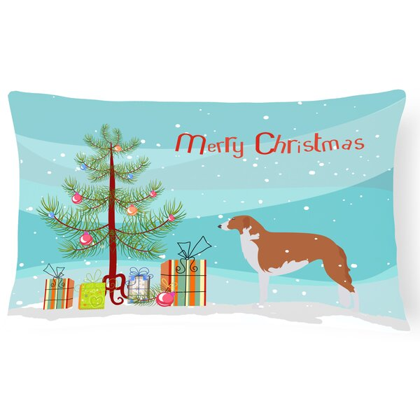 Borzoi Indoor/Outdoor Lumbar Pillow by The Holiday Aisle