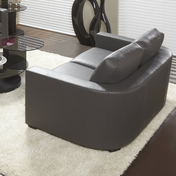 947 Series Leather Loveseat by Lind Furniture