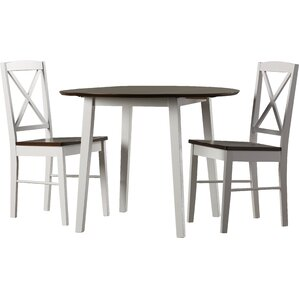 Wiley 3 Piece Dining Set