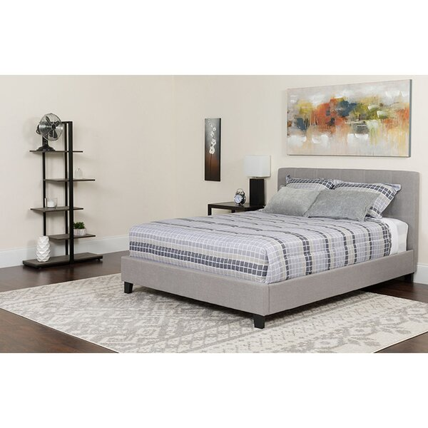 Cyra Twin Upholstered Platform Bed by Winston Porter