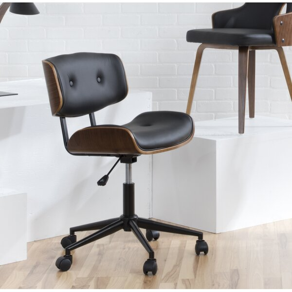 Arlon Mid-Back Desk Office Chair by Wade Logan