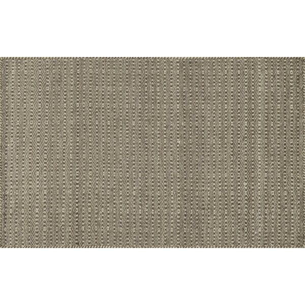Quays Hand-Woven Brown Area Rug by Gracie Oaks