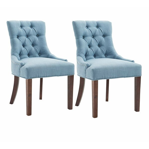 Bryon Upholstered Dining Chair (Set of 2) by Red Barrel Studio Red Barrel Studio