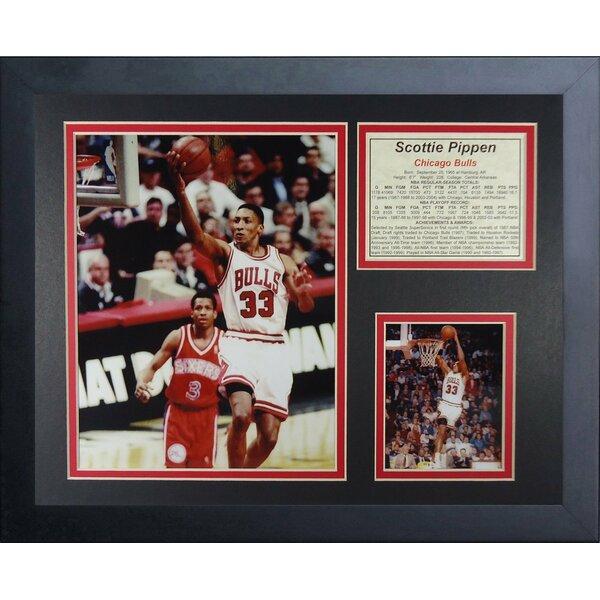 Scottie Pippen Framed Memorabilia by Legends Never Die