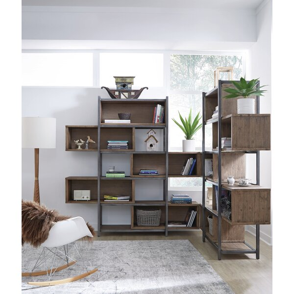 Elisha Standard Bookcase by 17 Stories 17 Stories