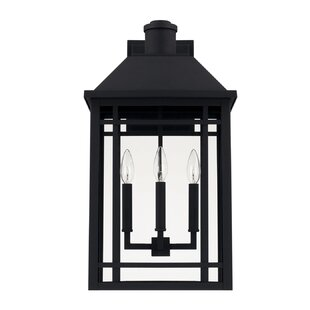 Order Chad 3-Light Outdoor Wall Lantern By Alcott Hill