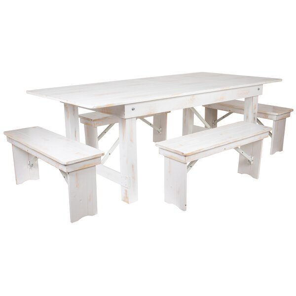 Alek 5 Piece Dining Set by Gracie Oaks Gracie Oaks
