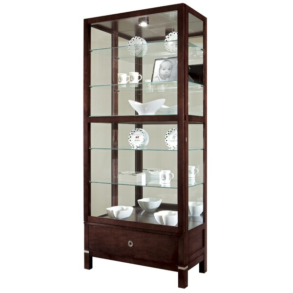 Brindley Curio Cabinet by Darby Home Co