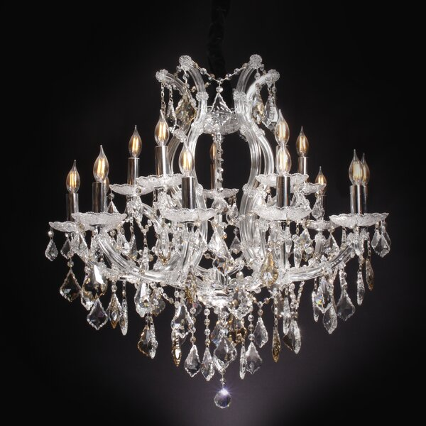 Roden 15-Light Candle Style Tiered Chandelier by Astoria Grand Astoria Grand