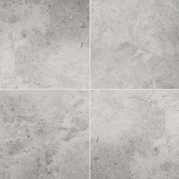12 x 24 Marble Tile in Silver by Emser Tile
