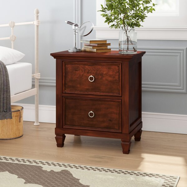 Freeport 2 Drawer Nightstand by Alcott Hill