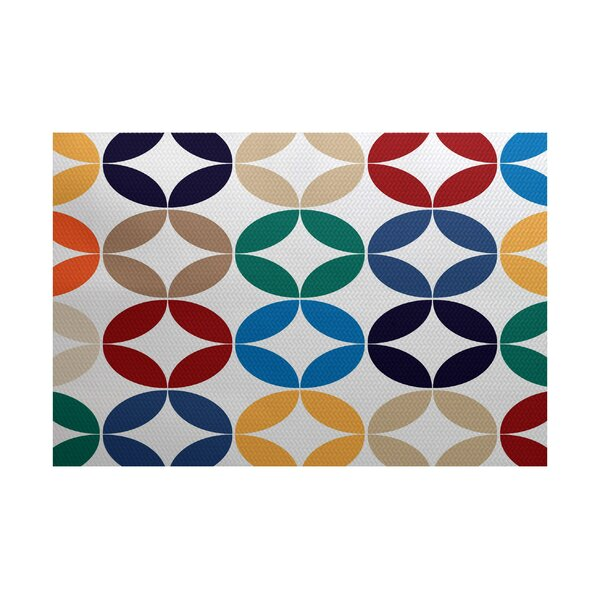 Francisco Green/Blue Indoor/Outdoor Area Rug by Latitude Run