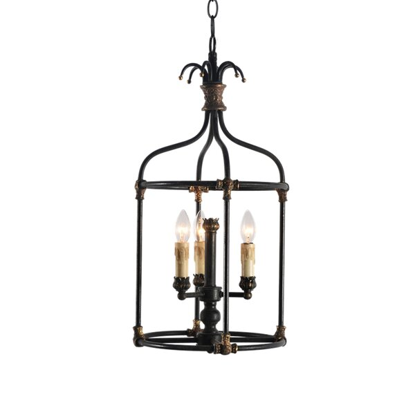 Steinmetz 3-Light Chandelier by Bay Isle Home