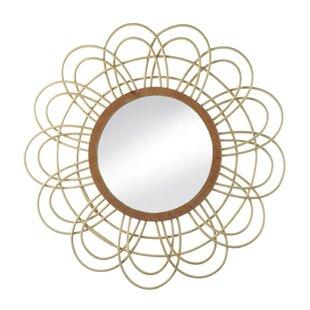 Nikki Chu Daemono Rattan Loop Accent Mirror