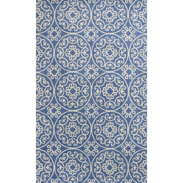 Harmony Hand-Woven Azure Blue Area Rug by Donny Osmond Home